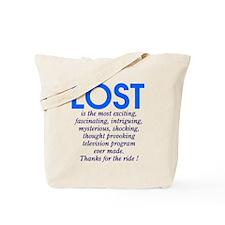 LOST is Tote Bag