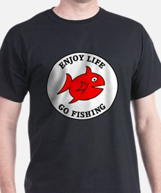 Enjoy Life Go Fishing T-Shirt