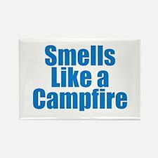 Smells Like a Campfire Magnets
