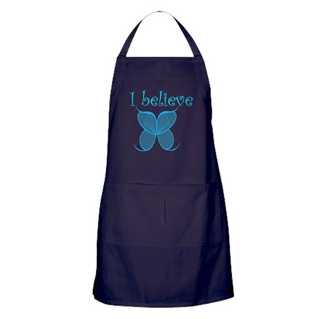 """""""I Believe"""" Fairy Wings Apron (dark)"""