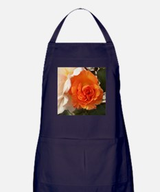 Orange Rose Apron (dark)