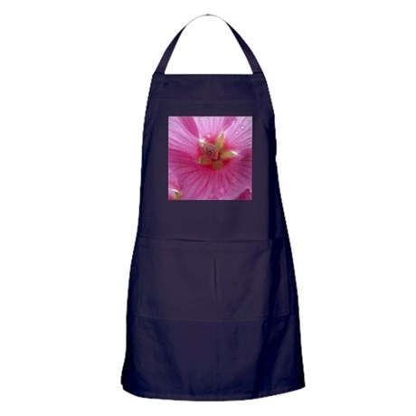 Pink Flower Apron (dark)