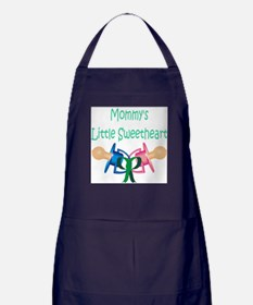 Mommy's Little Sweetheart Apron (dark)