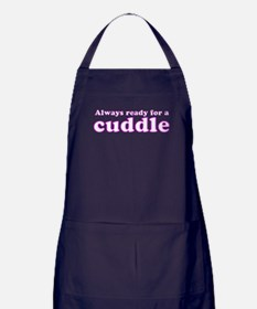 Always Ready for a Cuddle Apron (dark)