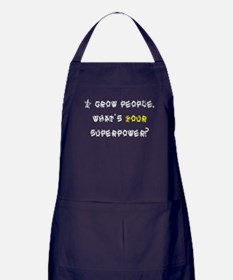 Superhero Mom Apron (dark)