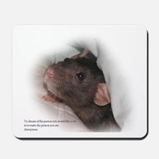 Molly Rat Mousepad