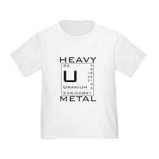 Cute Heavy metal chemistry T
