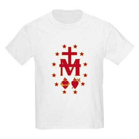 Blessed Virgin Symbolism Kids T-Shirt