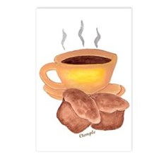 COFFEE AND MUFFINS Postcards (Package of 8)