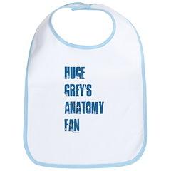 Grey's Anatomy Fan. Bib