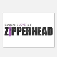 Someone I Love is a Zipperhead Postcards (Package