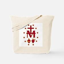 Blessed Virgin Symbolism Tote Bag