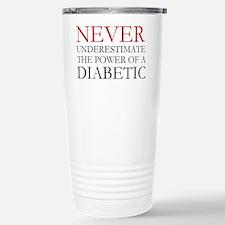Never Underestimate... Diabetic Stainless Steel Tr