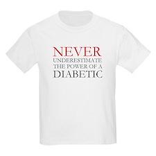 Never Underestimate... Diabetic T-Shirt
