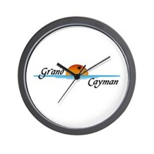 Grand Cayman Sunset Wall Clock