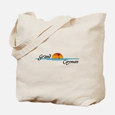 Grand Cayman Sunset Tote Bag