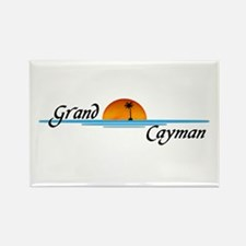 Grand Cayman Sunset Rectangle Magnet