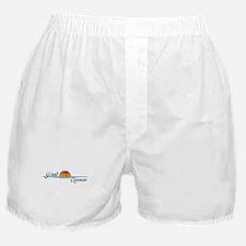 Grand Cayman Sunset Boxer Shorts