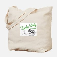 Luck Lady Lounge (Green) Tote Bag