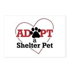 Adopt a Shelter Pet Postcards (Package of 8)