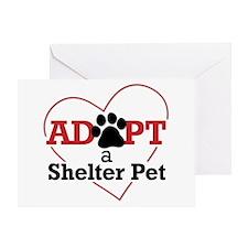 Adopt a Shelter Pet Greeting Card