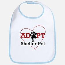 Adopt a Shelter Pet Bib