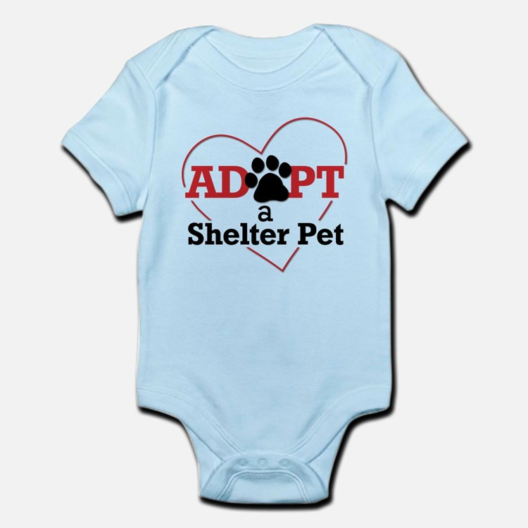 Adopt a Shelter Pet Infant Bodysuit