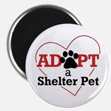 Adopt a Shelter Pet Magnet