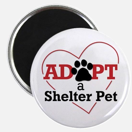Adopt a Shelter Pet Magnet