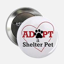"""Adopt a Shelter Pet 2.25"""" Button"""