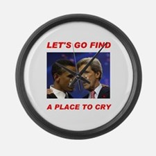 THEY'LL CRY IN NOVEMBER! - Large Wall Clock