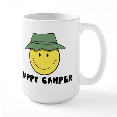 Happy Camper camping Large Mug