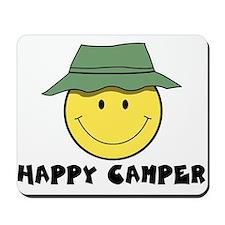 Happy Camper camping Mousepad