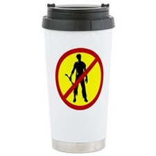 No Zombies - Travel Mug