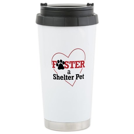 Foster a Pet Stainless Steel Travel Mug