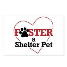 Foster a Pet Postcards (Package of 8)