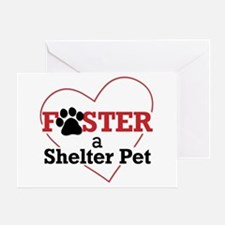 Foster a Pet Greeting Card
