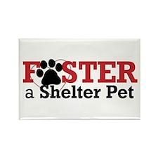 Foster a Pet Rectangle Magnet