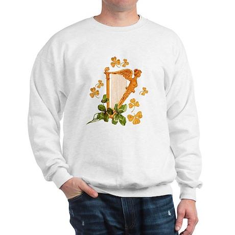 GOLDEN IRISH HARP Sweatshirt