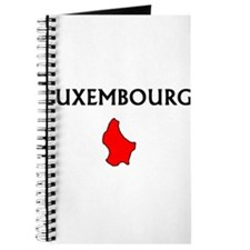 Cute Luxembourger map Journal