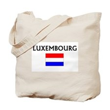 Unique Luxembourger map Tote Bag
