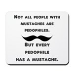 Mustaches Mousepad
