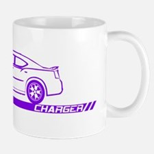 2005-10 Charger Purple Car Mug