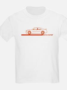 2005-10 Charger Orange Car T-Shirt