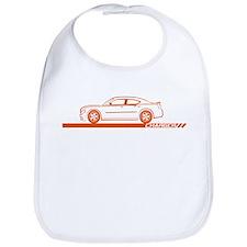 2005-10 Charger Orange Car Bib