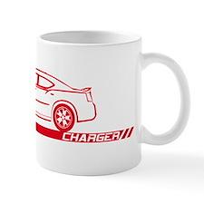 2005-10 Charger Red Car Mug