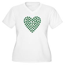 Shamrocks heart T-Shirt