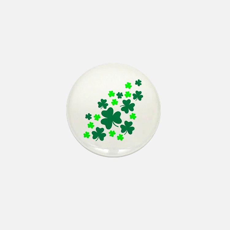 Shamrocks Mini Button