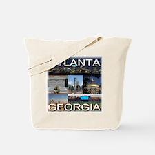Atlanta, Georgia Tote Bag