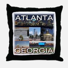 Atlanta, Georgia Throw Pillow